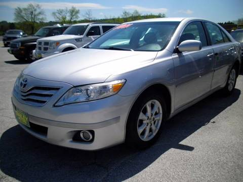 2011 Toyota Camry for sale at BAILEY MOTORS INC in West Rutland VT