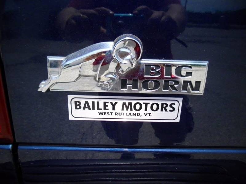 2008 Dodge Ram Pickup 2500 for sale at BAILEY MOTORS INC in West Rutland VT