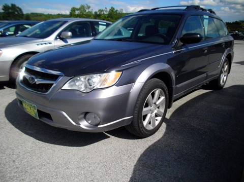 2009 Subaru Outback for sale at BAILEY MOTORS INC in West Rutland VT