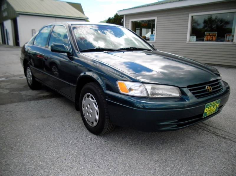 1998 Toyota Camry for sale at BAILEY MOTORS INC in West Rutland VT