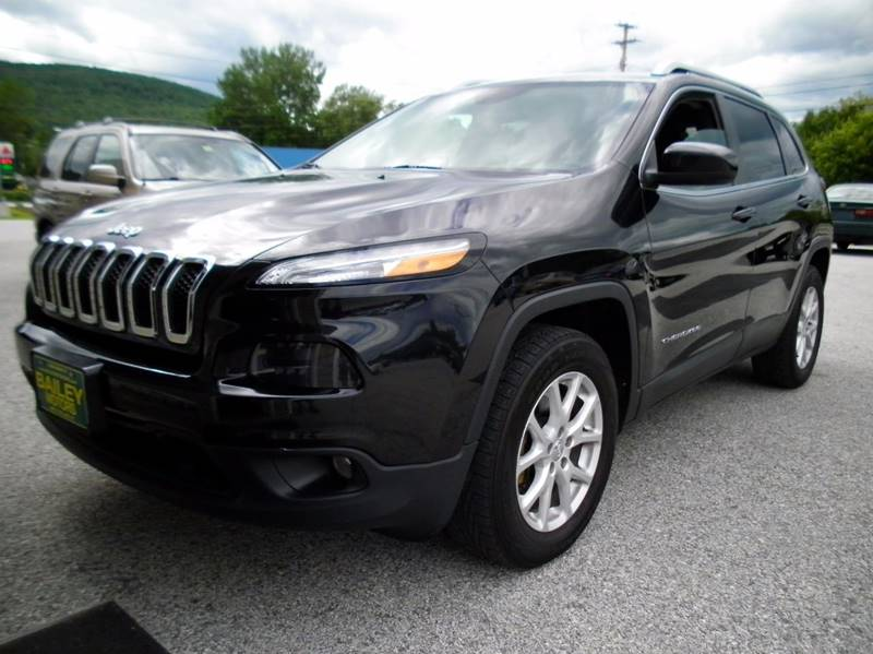 2014 Jeep Cherokee for sale at BAILEY MOTORS INC in West Rutland VT