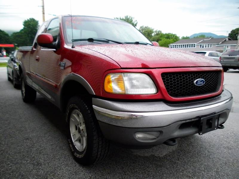 2002 Ford F-150 for sale at BAILEY MOTORS INC in West Rutland VT
