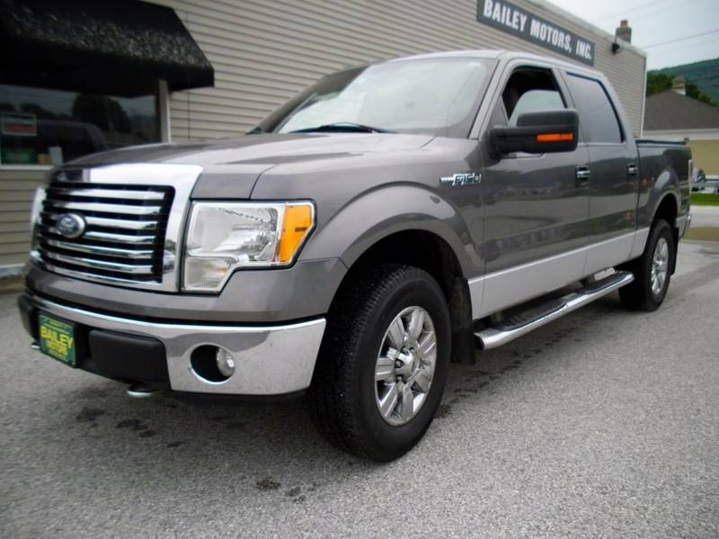 2010 Ford F-150 for sale at BAILEY MOTORS INC in West Rutland VT