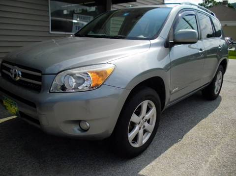 2007 Toyota RAV4 for sale at BAILEY MOTORS INC in West Rutland VT