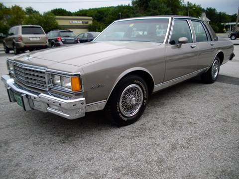 1984 Chevrolet Caprice for sale at BAILEY MOTORS INC in West Rutland VT
