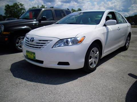 2009 Toyota Camry for sale at BAILEY MOTORS INC in West Rutland VT