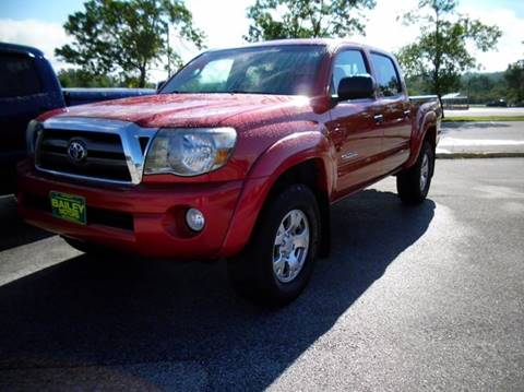 2009 Toyota Tacoma for sale at BAILEY MOTORS INC in West Rutland VT
