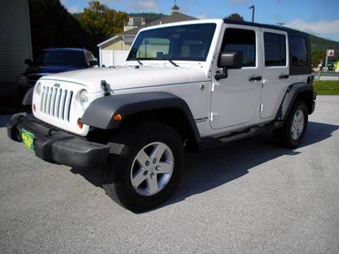 2009 Jeep Wrangler Unlimited for sale in West Rutland, VT