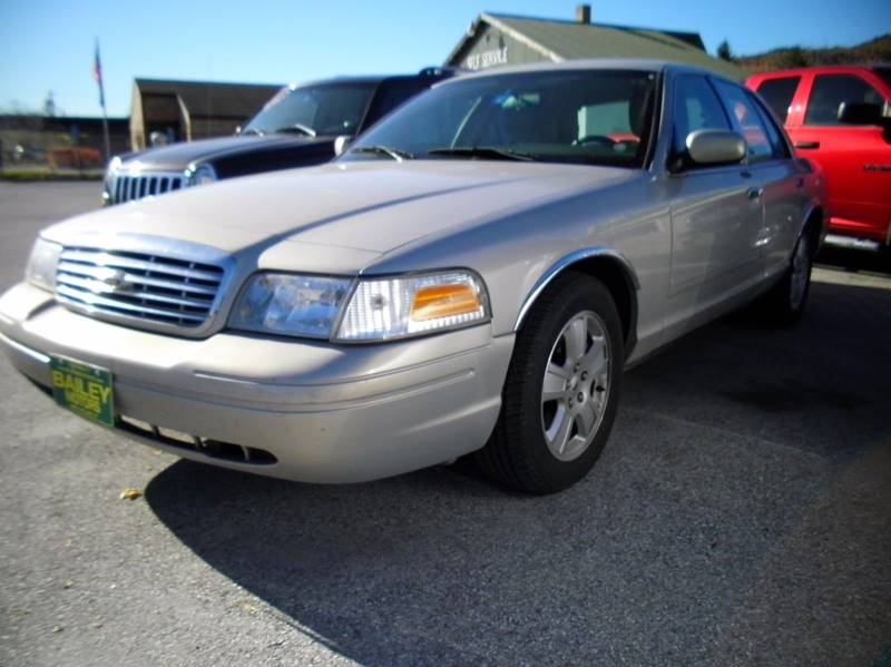 Ford Crown Victoria For Sale At Bailey Motors Inc In West Rutland Vt
