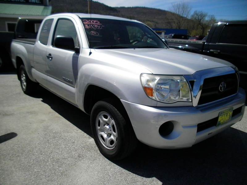 2005 Toyota Tacoma for sale at BAILEY MOTORS INC in West Rutland VT