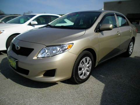 2010 Toyota Corolla for sale at BAILEY MOTORS INC in West Rutland VT