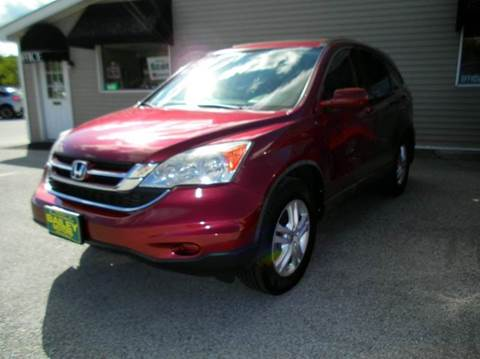 2010 Honda CR-V for sale at BAILEY MOTORS INC in West Rutland VT