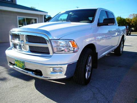 2010 Dodge Ram Pickup 1500 for sale at BAILEY MOTORS INC in West Rutland VT
