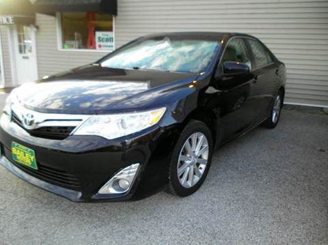 2012 Toyota Camry for sale at BAILEY MOTORS INC in West Rutland VT