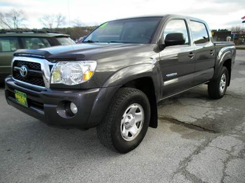 2011 Toyota Tacoma for sale at BAILEY MOTORS INC in West Rutland VT
