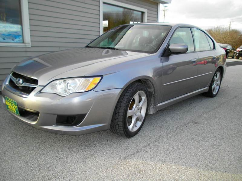 2008 Subaru Legacy for sale at BAILEY MOTORS INC in West Rutland VT