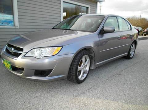 2008 Subaru Legacy for sale at BAILEY MOTORS INC in West Rutland VT