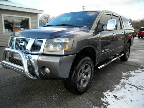 2006 Nissan Titan for sale at BAILEY MOTORS INC in West Rutland VT