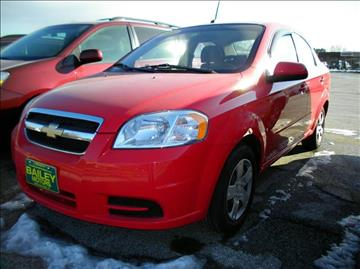 2009 Chevrolet Aveo for sale at BAILEY MOTORS INC in West Rutland VT