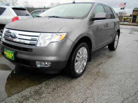 2010 Ford Edge for sale at BAILEY MOTORS INC in West Rutland VT
