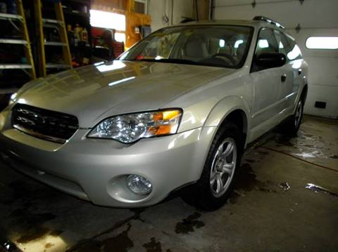 2007 Subaru Outback for sale at BAILEY MOTORS INC in West Rutland VT