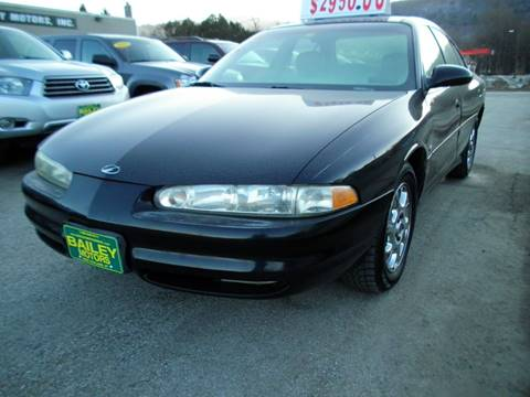 2000 Oldsmobile Intrigue for sale at BAILEY MOTORS INC in West Rutland VT