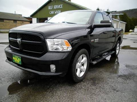 2013 RAM Ram Pickup 1500 for sale at BAILEY MOTORS INC in West Rutland VT