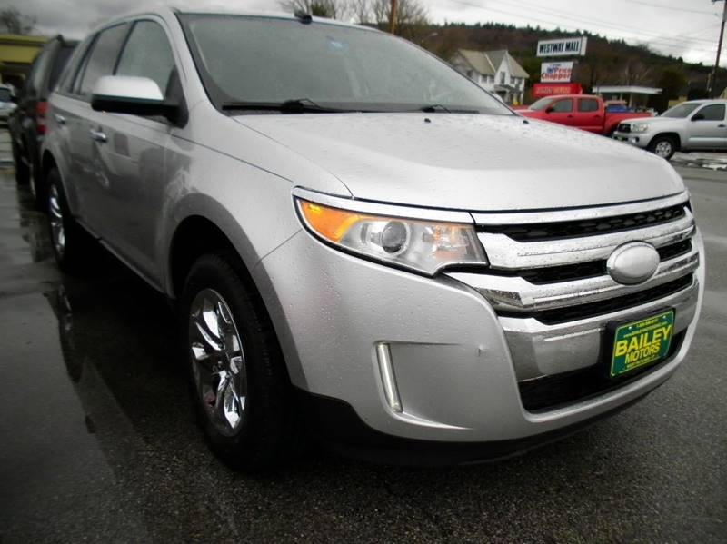 2013 Ford Edge for sale at BAILEY MOTORS INC in West Rutland VT