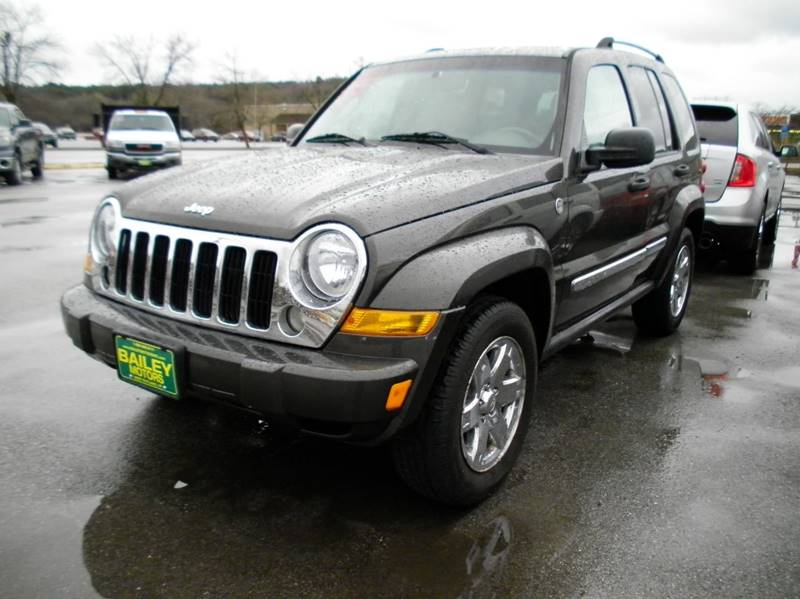 2006 Jeep Liberty for sale at BAILEY MOTORS INC in West Rutland VT