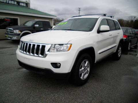 2011 Jeep Grand Cherokee for sale at BAILEY MOTORS INC in West Rutland VT