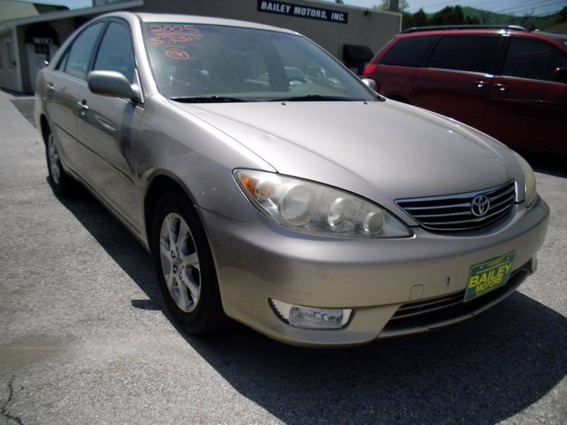 2005 Toyota Camry for sale at BAILEY MOTORS INC in West Rutland VT