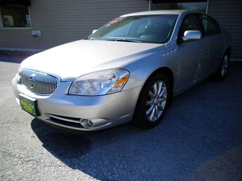 2008 Buick Lucerne for sale at BAILEY MOTORS INC in West Rutland VT
