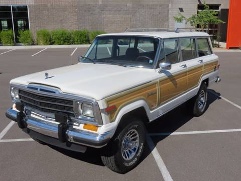 1987 Jeep Grand Wagoneer for sale in Sacramento, CA