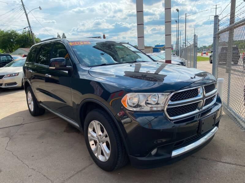 2013 Dodge Durango for sale at Matthew's Stop & Look Auto Sales in Detroit MI
