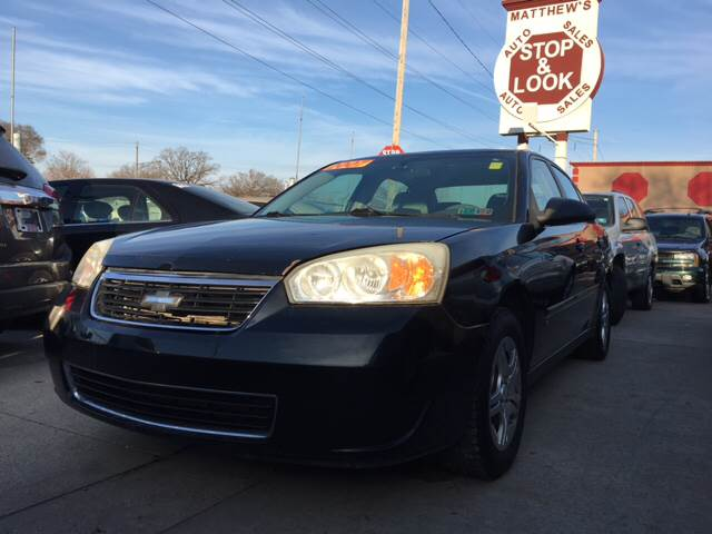 2007 Chevrolet Malibu For Sale At Matthewu0027s Stop U0026 Look Auto Sales In  Detroit MI