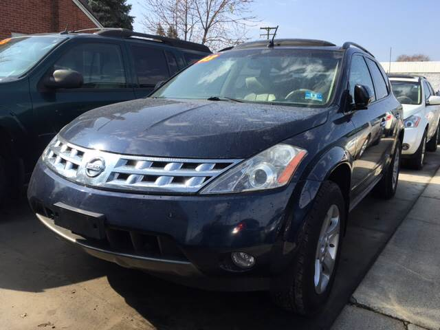 2003 Nissan Murano For Sale At Matthewu0027s Stop U0026 Look Auto Sales In Detroit  MI
