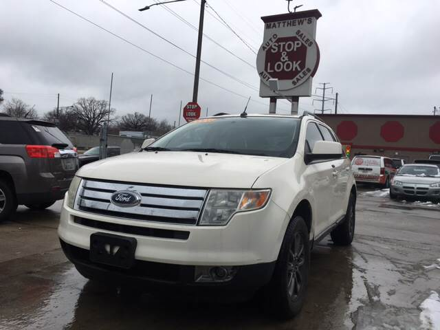 Ford Edge For Sale At Matthews Stop Look Auto Sales In Detroit Mi