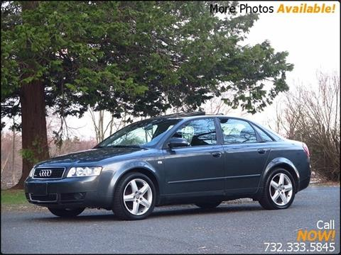 Audi A For Sale In New Jersey Carsforsalecom - Audi a4 for sale