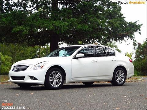 2011 Infiniti G25 Sedan for sale in East Brunswick, NJ