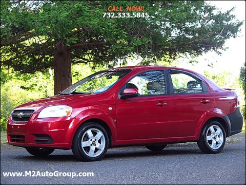 2007 Chevrolet Aveo for sale at M2 Auto Group Llc. EAST BRUNSWICK in East Brunswick NJ