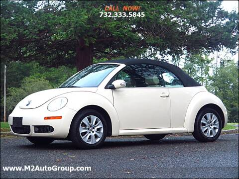 2009 Volkswagen New Beetle Convertible for sale at M2 Auto Group Llc. EAST BRUNSWICK in East Brunswick NJ