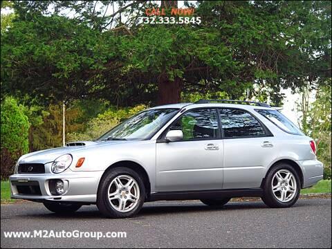 2002 Subaru Impreza for sale at M2 Auto Group Llc. EAST BRUNSWICK in East Brunswick NJ
