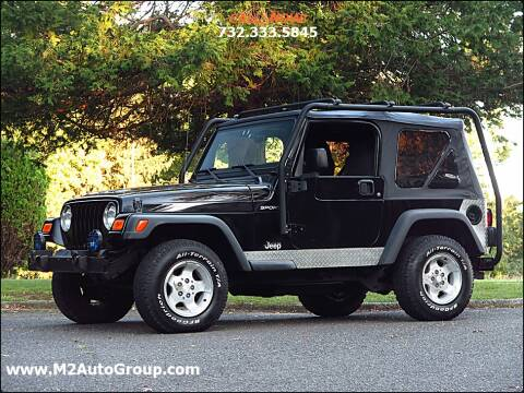 2003 Jeep Wrangler for sale at M2 Auto Group Llc. EAST BRUNSWICK in East Brunswick NJ