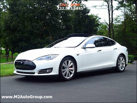 2015 Tesla Model S for sale at M2 Auto Group Llc. EAST BRUNSWICK in East Brunswick NJ