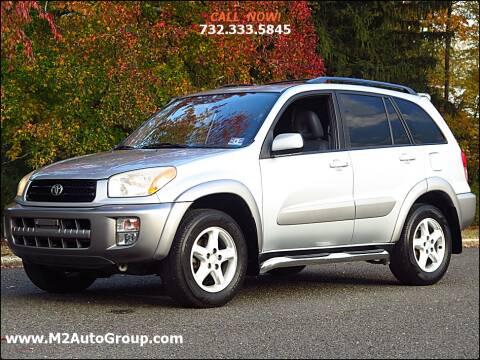 2001 Toyota RAV4 for sale at M2 Auto Group Llc. EAST BRUNSWICK in East Brunswick NJ