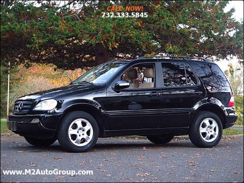 2003 Mercedes-Benz M-Class for sale at M2 Auto Group Llc. EAST BRUNSWICK in East Brunswick NJ