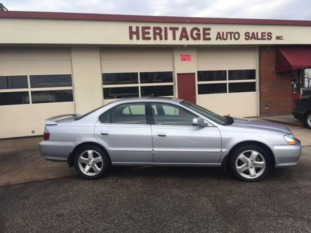Acura Tl TypeS Dr Sedan In Waterbury CT Heritage Auto Sales - 2003 acura tl type s for sale