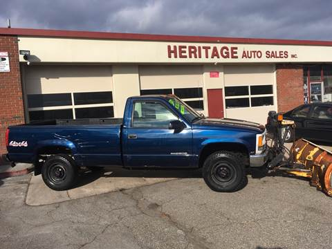 1996 GMC Sierra 2500 for sale in Waterbury, CT