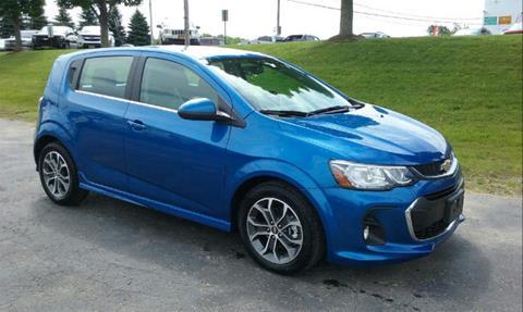 Chevrolet sonic for sale in new york for Burritt motors oswego ny