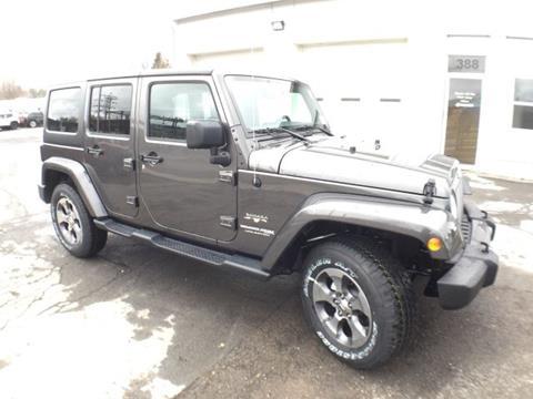 Jeep wrangler for sale in new york for Burritt motors oswego ny
